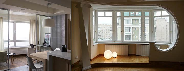 Влияние балкона на жилую площадь в квартире